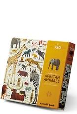 Crocodile Creek 750 PC WORLD OF - PUZZLES/AFRICAN ANIMALS