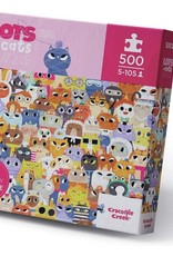 Crocodile Creek 500-PC BOXED/LOTS OF CATS