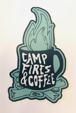 Stickers NW CAMP FIRES & COFFEE