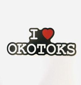 Stickers NW I HEART OKOTOKS