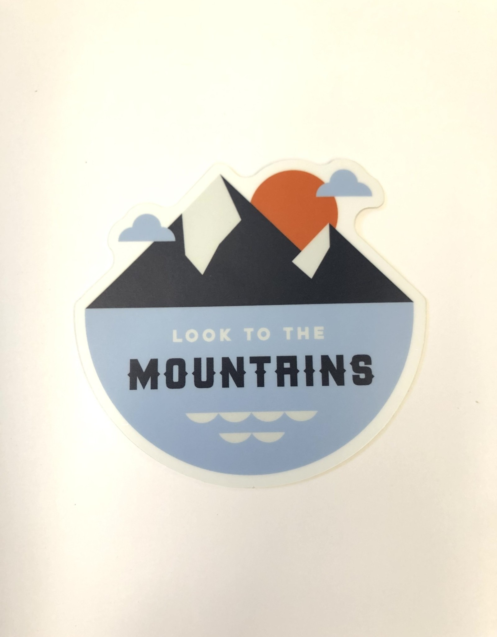Stickers NW LOOK TO THE MOUNTAINS