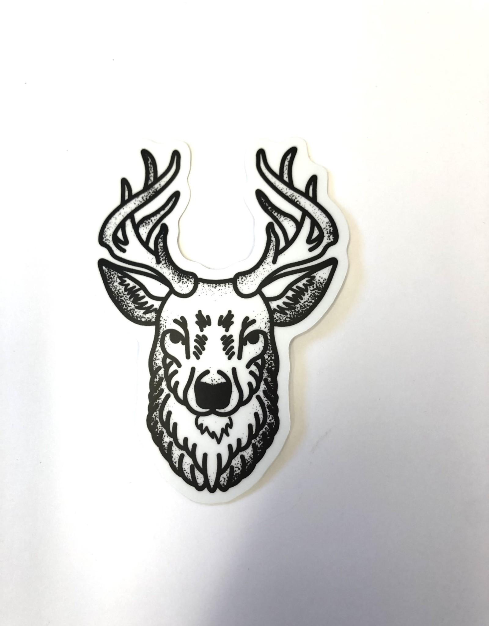 Stickers NW BUCK HEAD STICKER