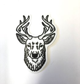 Stickers NW BUCK HEAD