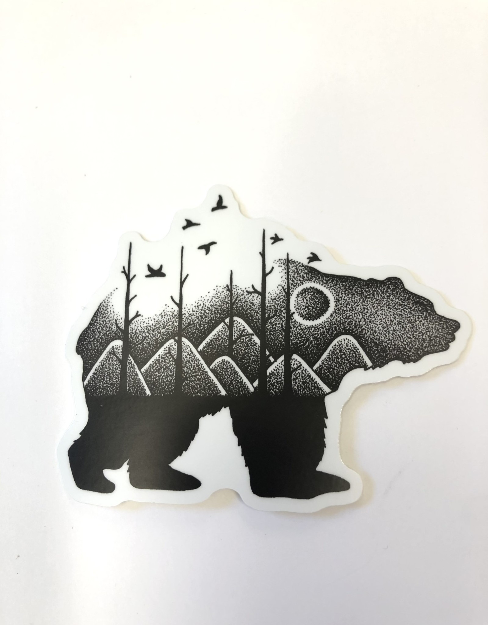 Stickers NW BEAR MOUNTAIN SCENE