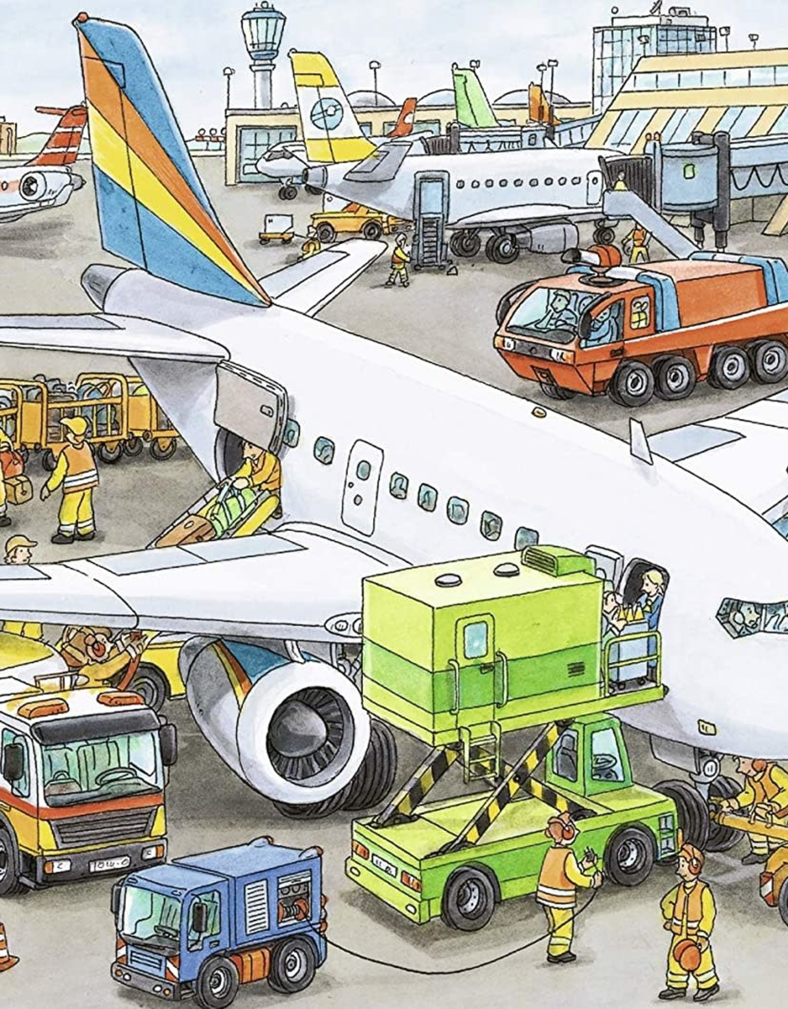 Ravensburger Busy Airport (35 pc)
