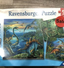 Ravensburger LTP Dinosaur Fascination 3x49 Pc