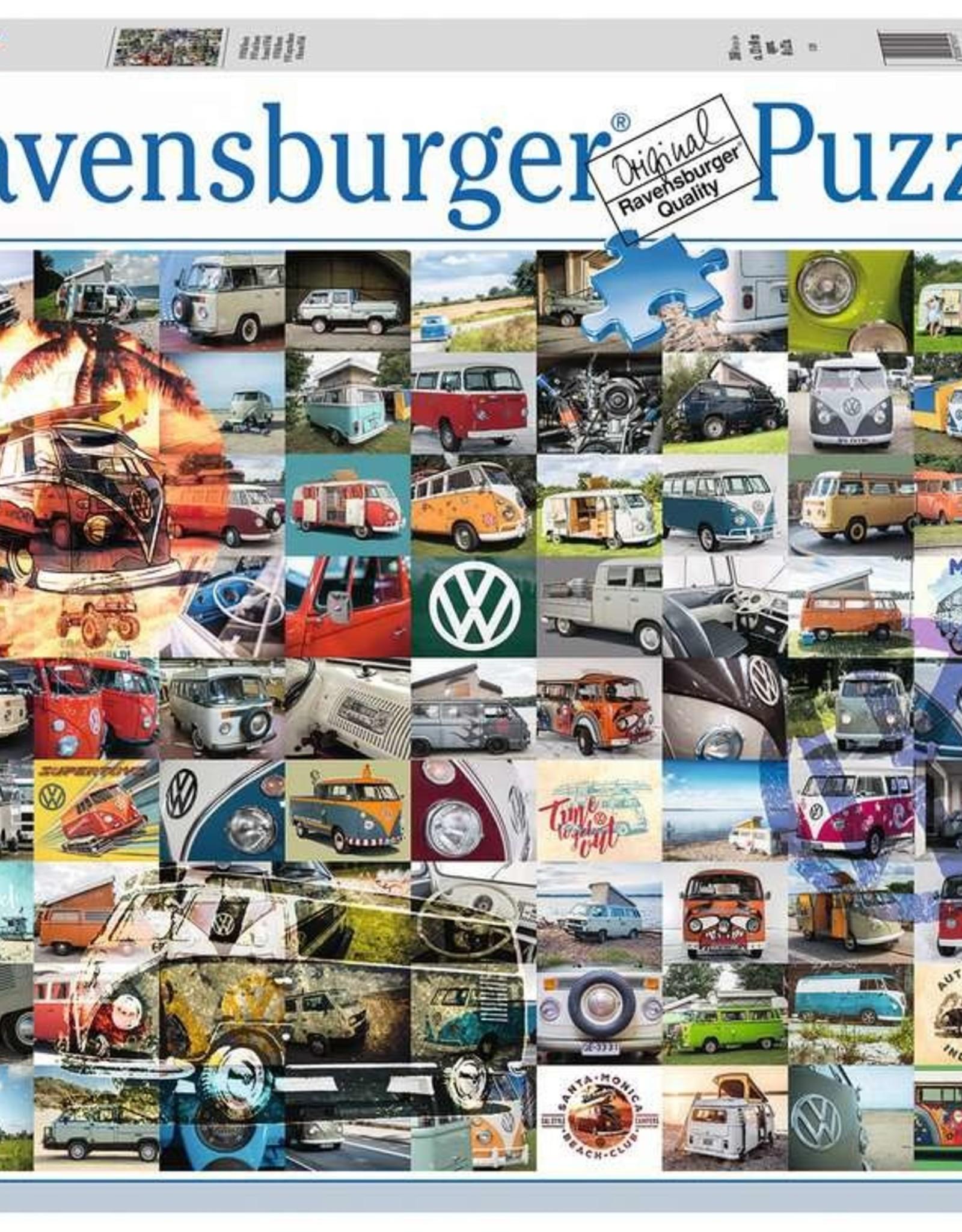 Ravensburger 99 VW Camper Van Moments (3000 PC)