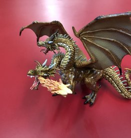 Papo LTP Papo Two Headed Dragon Gold