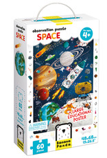 Banana Panda Observation Puzzle - Space 60pc