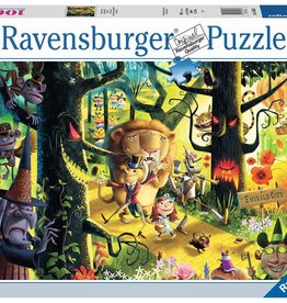Ravensburger Lions & Tigers  & Bears OH MY 1000p
