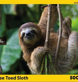 National Geographic THREE TOED SLOTH 500pc