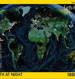 National Geographic EARTH AT NIGHT 1000pc