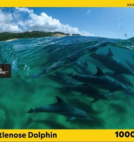 National Geographic BOTTLENOSE DOLPHINS 1000pc