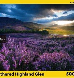 National Geographic HEATHERED HIGHLAND GLEN 500pc