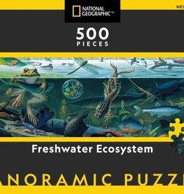 National Geographic FRESHWATER ECOSYSTEM 500pc