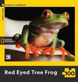 National Geographic RED EYED TREE FROG MINI 100pc