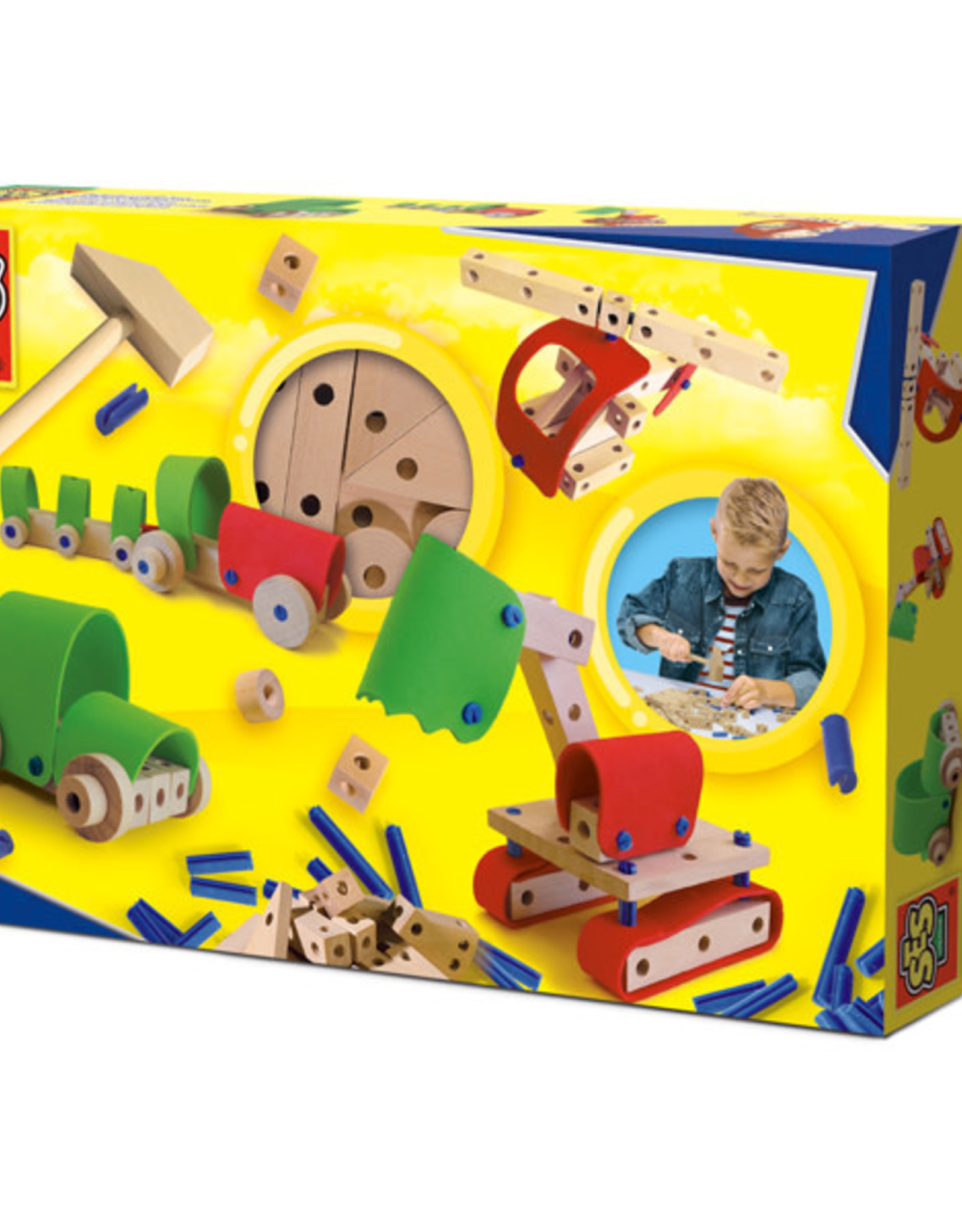 SES Carpentry Set Vehicles