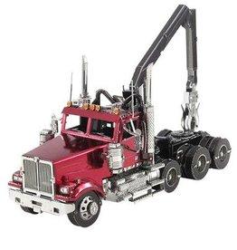 MetalEarth M.E., Western Star 4900 Log Truck, 3sh.