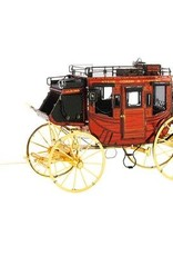 MetalEarth M.E., Wild West - Stage Coach, 3 sh