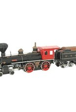 MetalEarth M.E., Wild West -  4-4-0 Locomotive, 4 sh