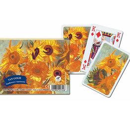 Piatnik Double Deck Playing Cards - Sunflowers, VVG