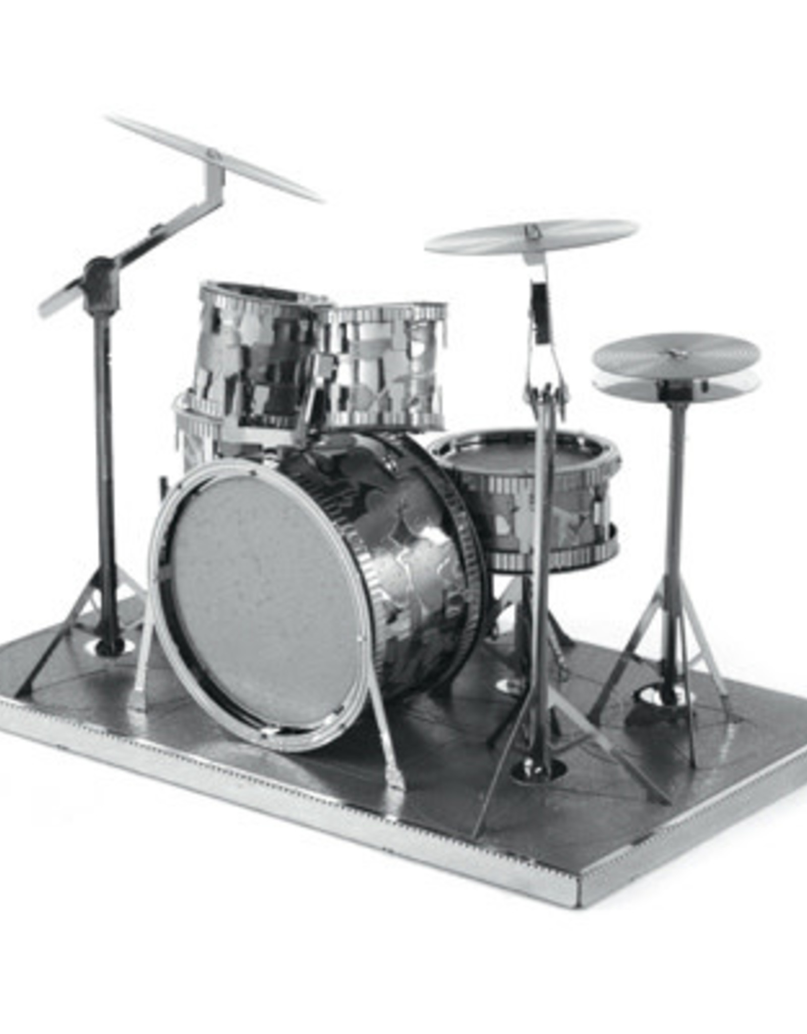 MetalEarth M.E., Drum Set, 2 sheets