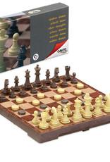 Cayro Magnetic Chess & Draught Set Medium