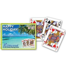 Piatnik Double deck play cards. Happy Holidays