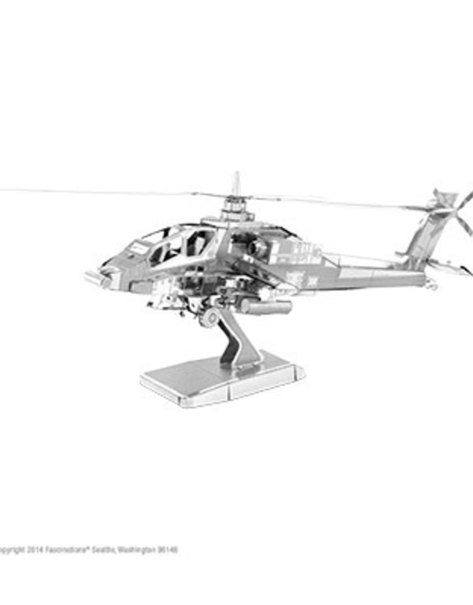MetalEarth M.E., AH-64 Apache, 2 sheets