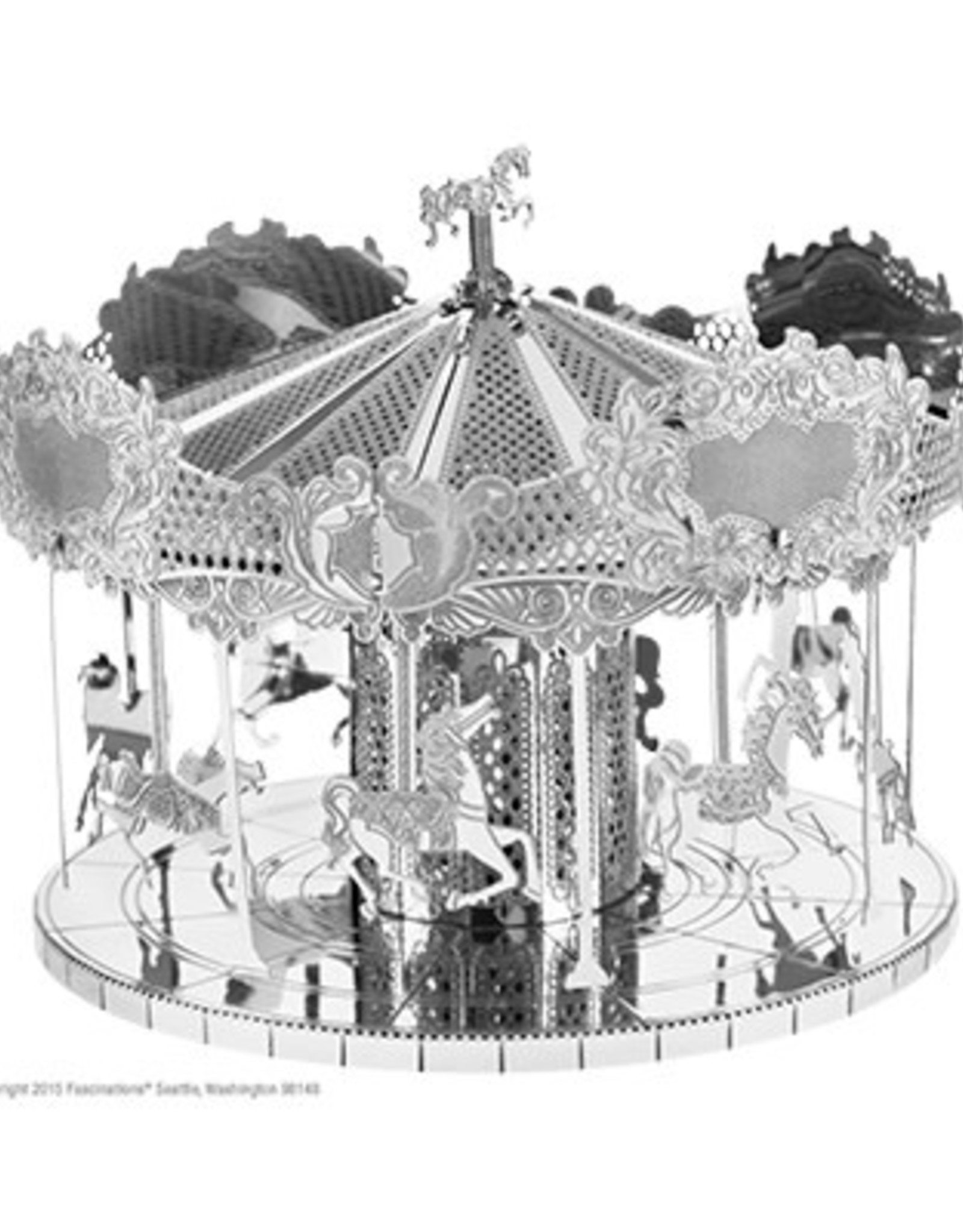 MetalEarth M.E., Merry Go Round, 2 sheets