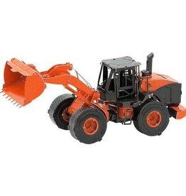 MetalEarth M.E., Wheel Loader (Orange), 2 sh