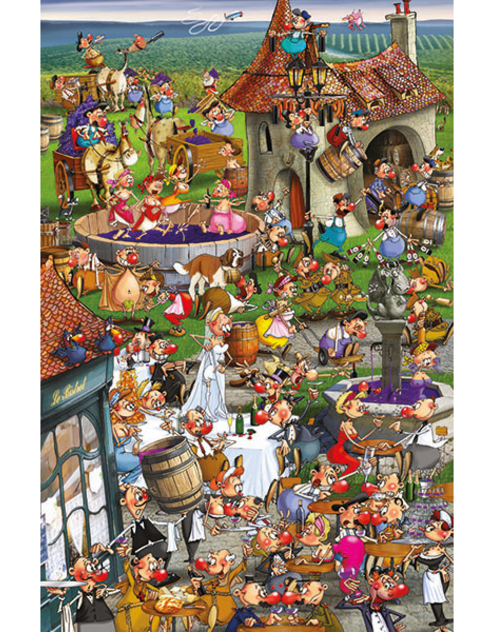 Piatnik Story of Wine, Ruyer 1000pc