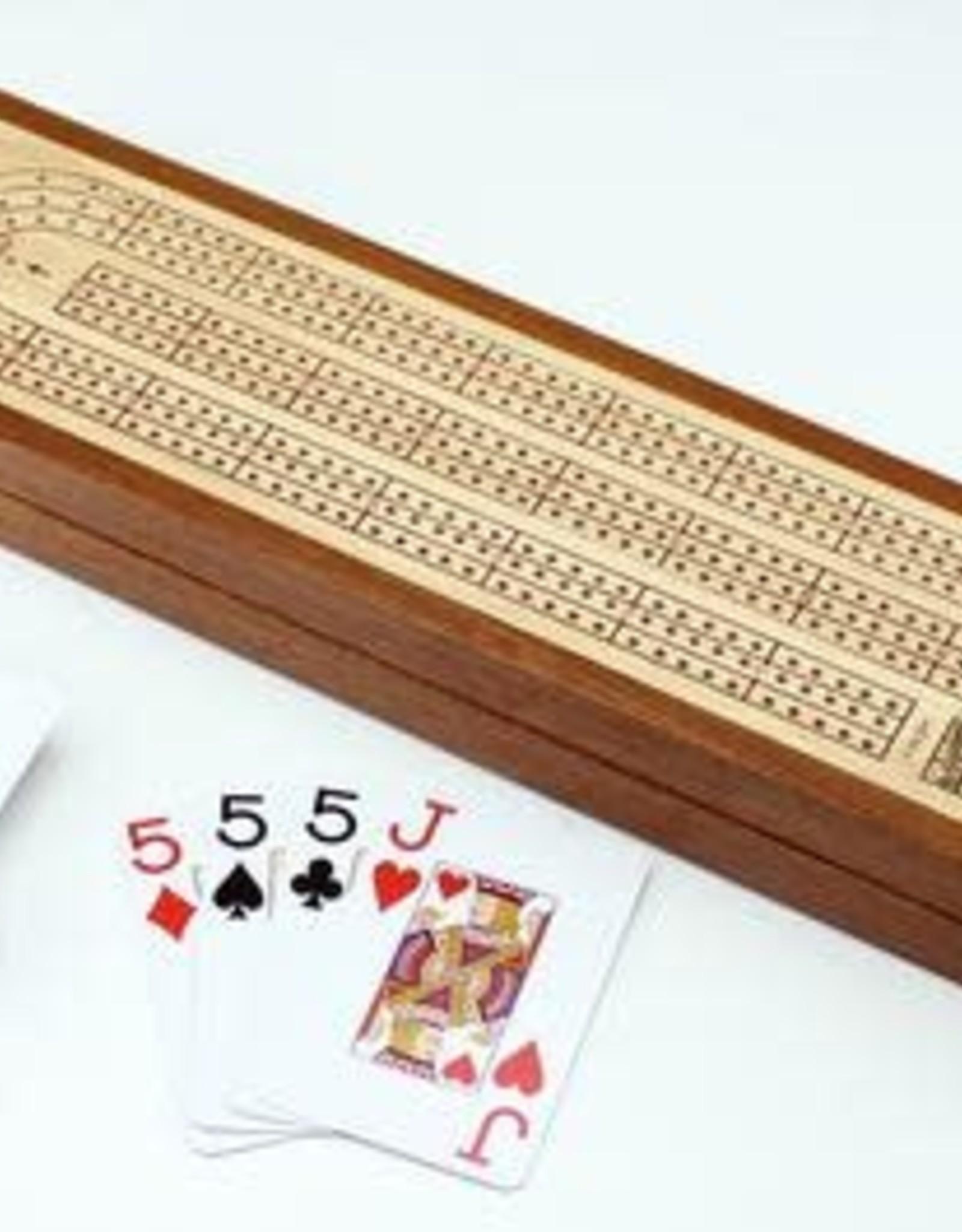 Mind Matters Cribbage board with Piatnik cards