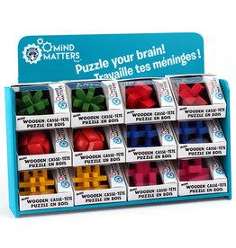 Mind Matters Rainbow Wooden Brainteaser