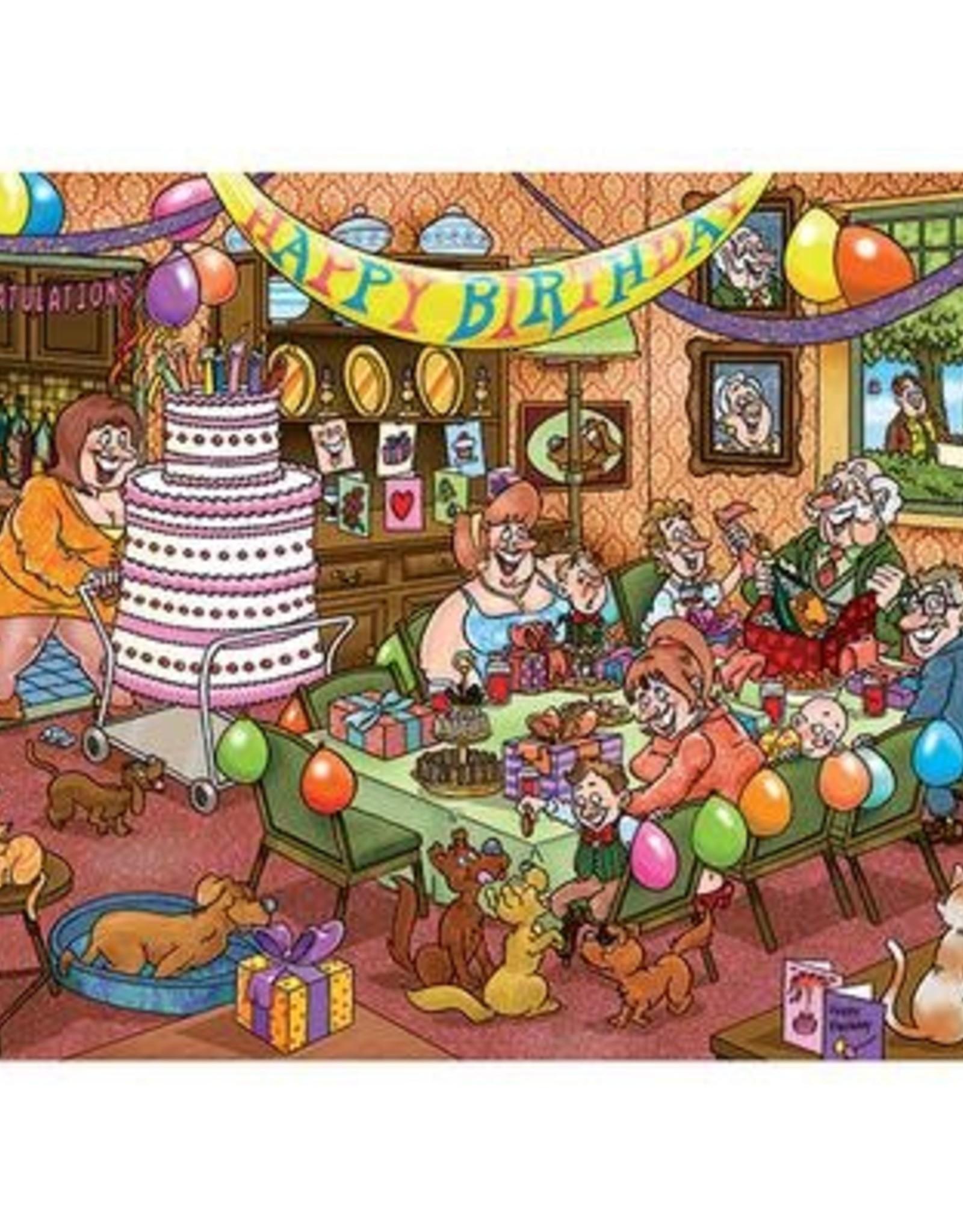 Jumbo Wasgij Mystery #16, Birthday Surprise 1000pc