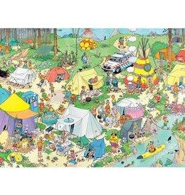 Jumbo Jan Van Haasteren: Camping in the Forest 1000pc