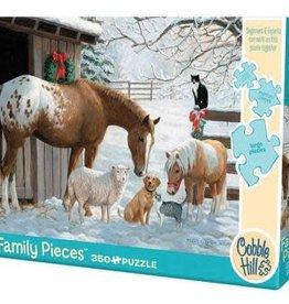Cobble Hill Winter Barnyard (Family)