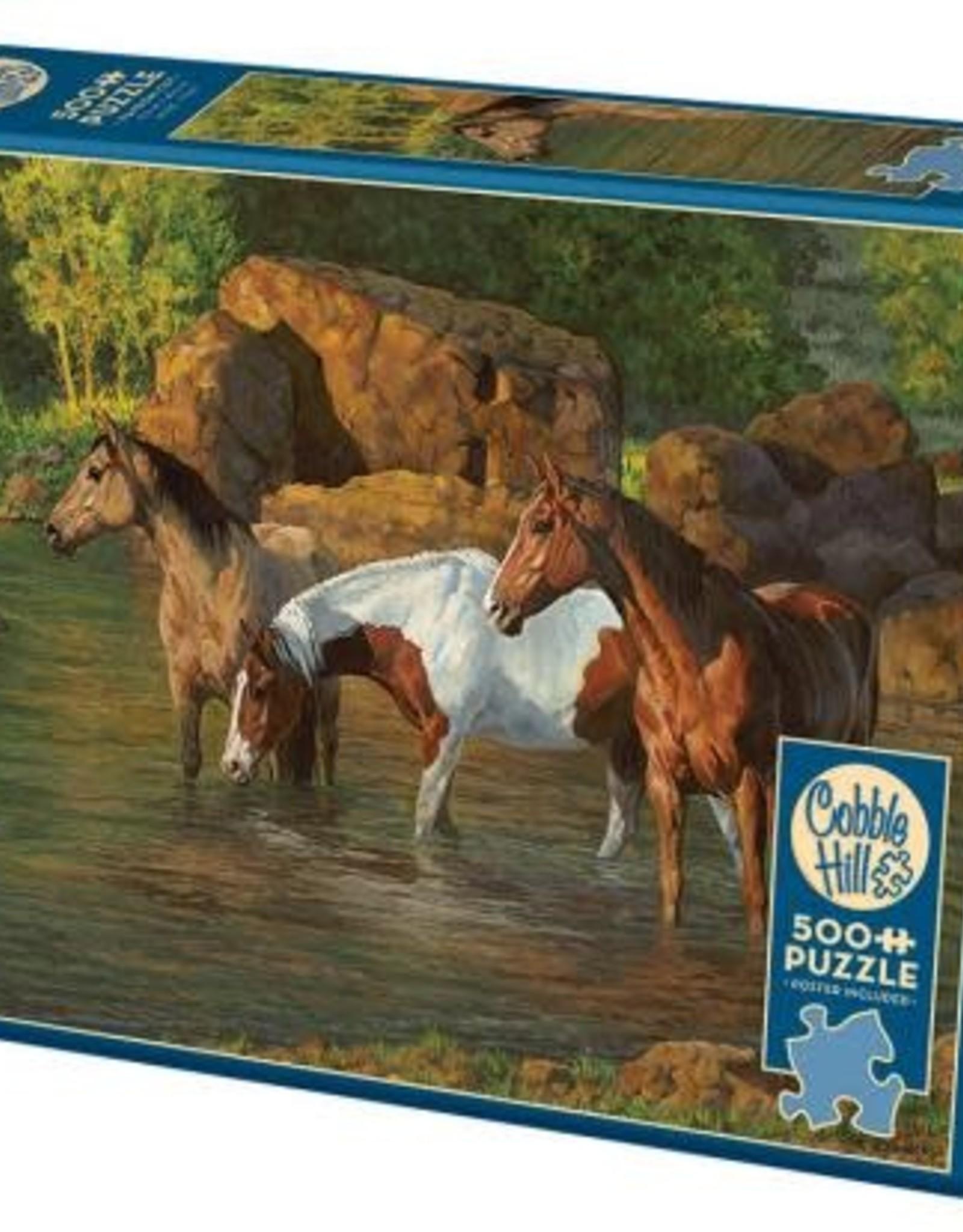 Cobble Hill Horse Pond 500pc