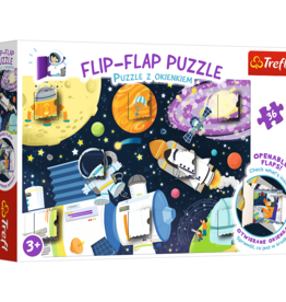 Trefl FLIP FLAP-SPACE 36pc