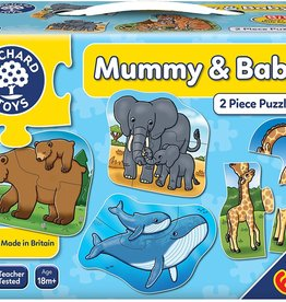 Orchard Toys MUMMY & BABY 2PC PUZZLES