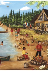 Trefl Genest-Summer at the Log Cabin 1000pc