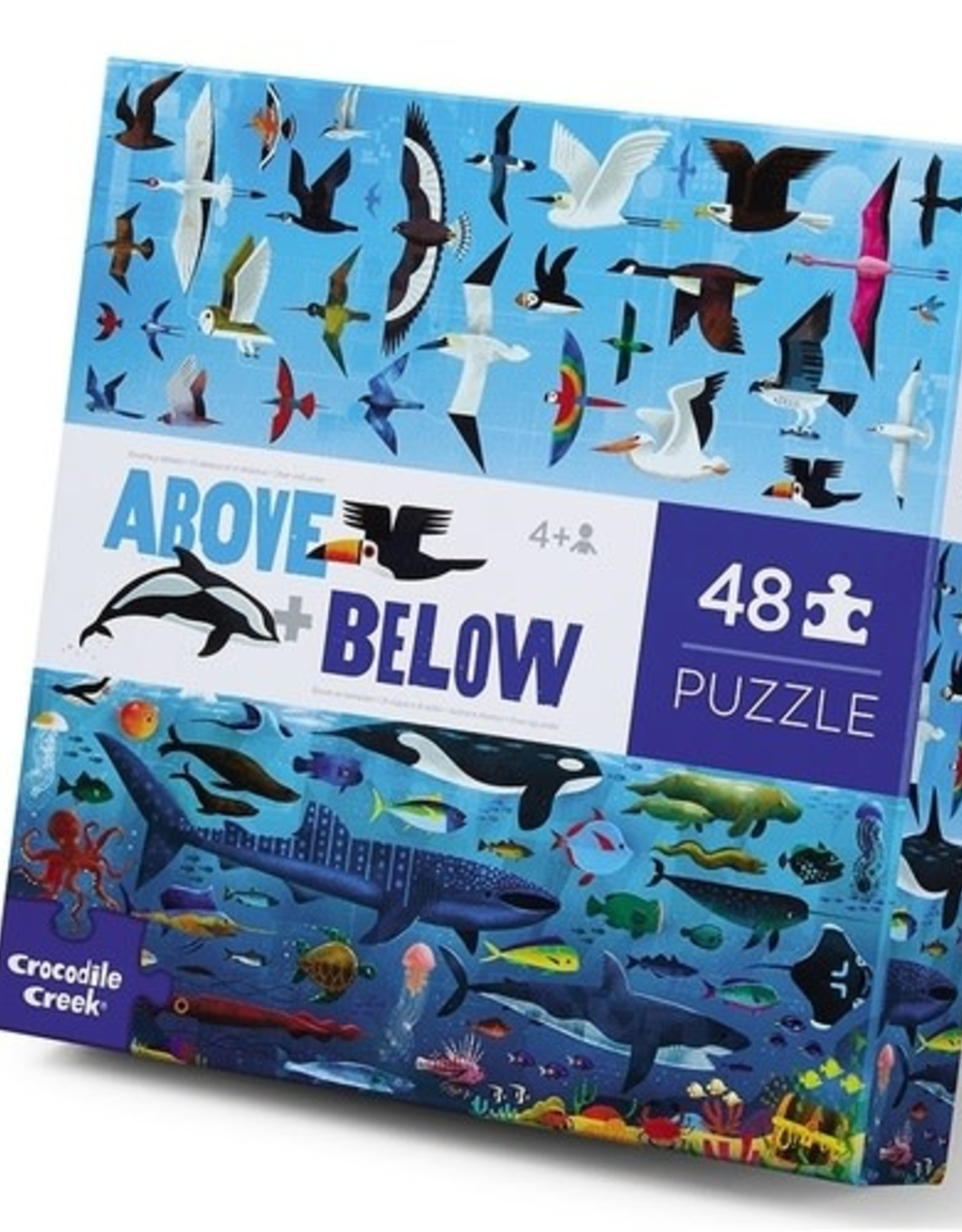 Crocodile Creek 48-PC ABOVE & BELOW/SEA AND SKY