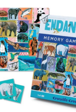 Crocodile Creek MEMORY GAME & PUZZLE/ENDANGERED