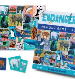 Crocodile Creek MEMORY GAME & PUZZLE/ENDANGERED