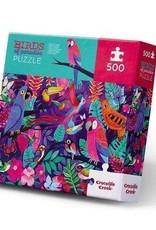Crocodile Creek 500-PC BOXED/BIRDS OF PARADISE