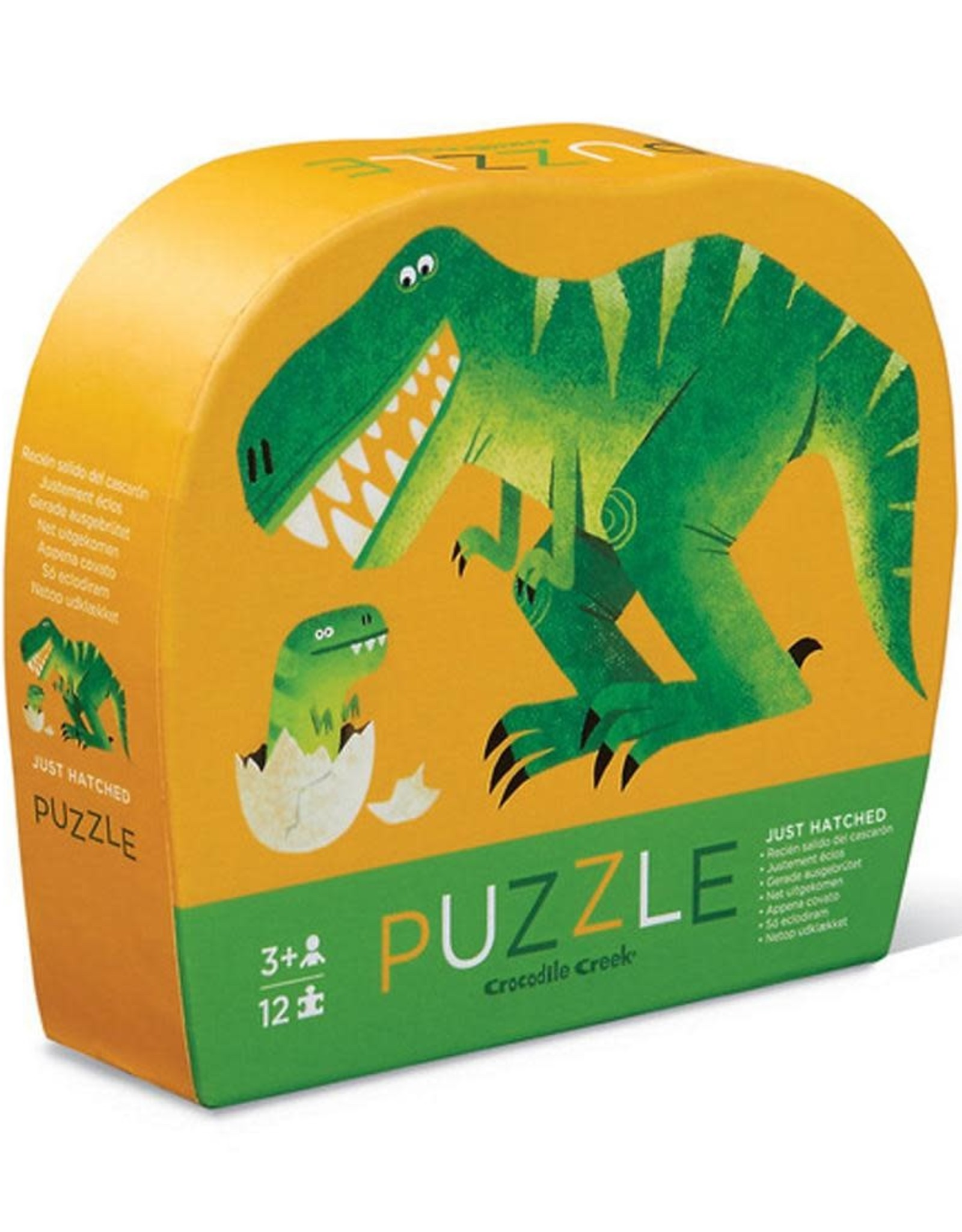 Crocodile Creek 12-PC MINI PUZZLE/JUST HATCHED