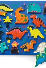 Crocodile Creek 16PC WOOD PUZZLE/DINOSAURS