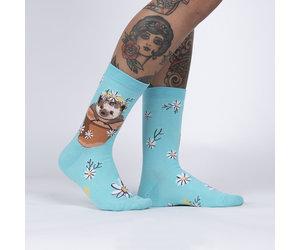 Sock It To Me Women's Crew: My Dear Hedgehog