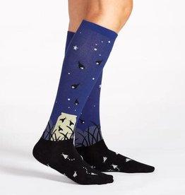 Sock It To Me KNEE HIGH FUNKY: NIGHTLIGHT