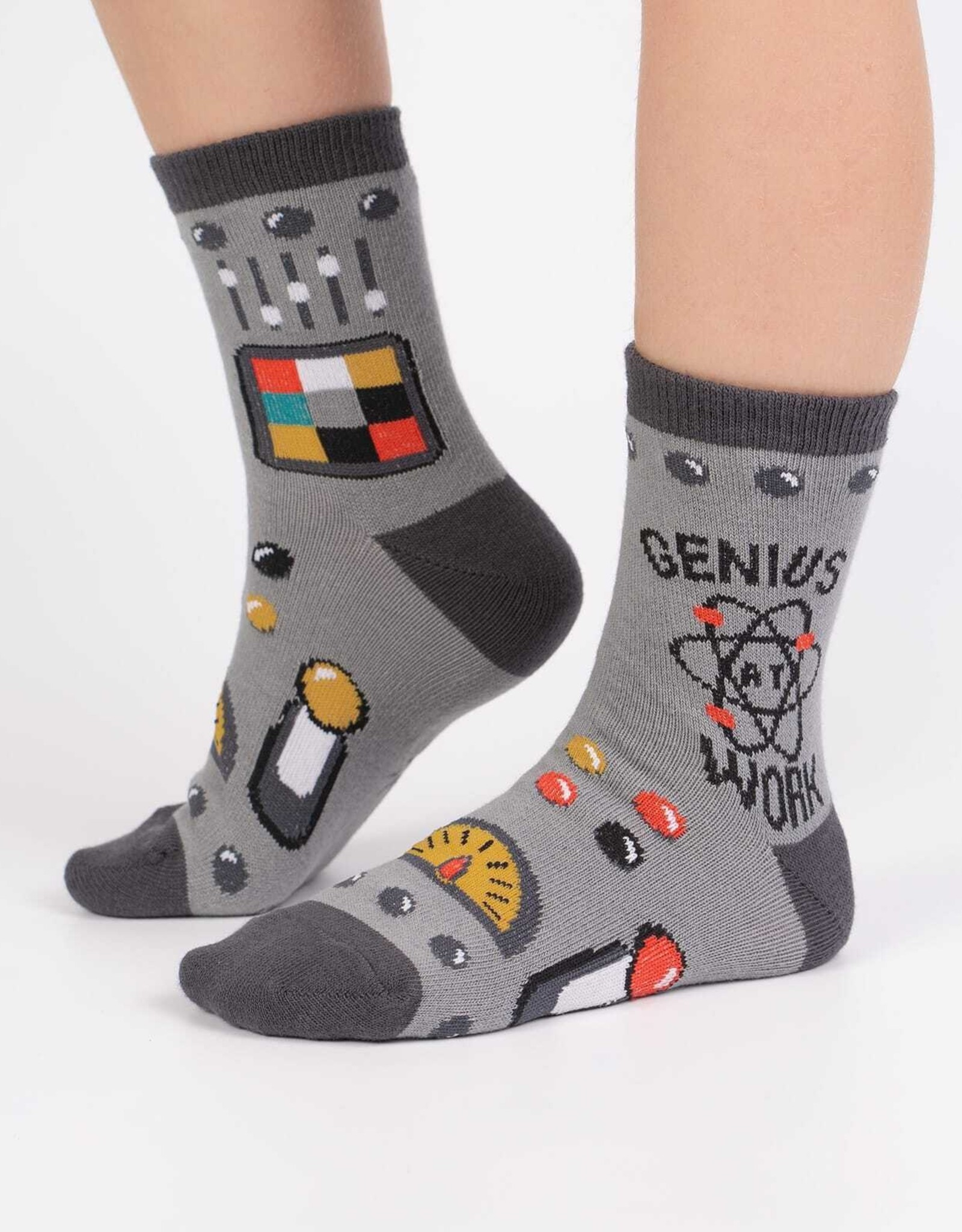 Sock It To Me JUNIOR CREW: GENIUS AT WORK